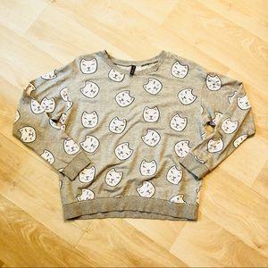 H&M Kitty Sweatshirt